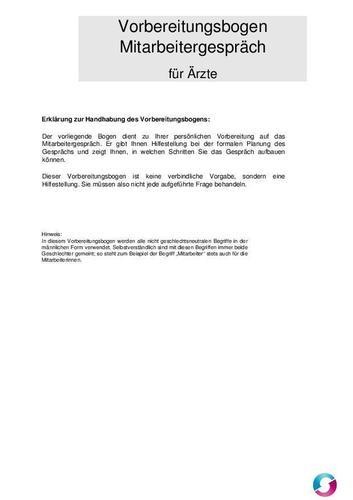 mitarbeitergespräch: information und vorbereitungsbogen, Einladungen