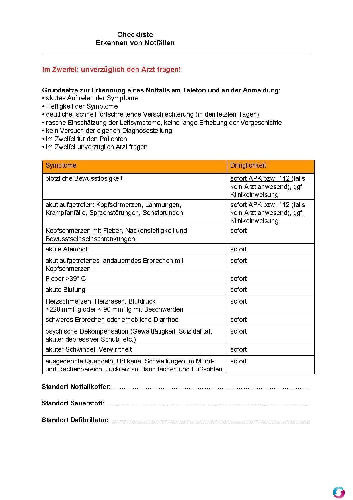 Qualitätsmanagement Vorlagen Und Muster Für Die Arztpraxis Mvz