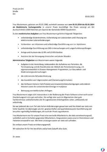 1 vorschau - Praktikumsbeurteilung Muster